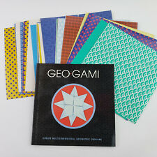 Geo-Gami Book Paper Create Multidimensional Geometric Origami Shapes Geogami
