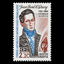 TAAF 1990 - Jean Rene C. Quoy Doctor & Naturalist Famous People - Sc 153 MNH