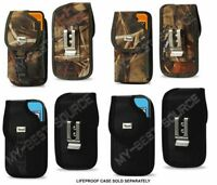 Rugged Belt Clip Holster FOR iPhone 6/6S Plus Lifeproof Fre Power Battery Case