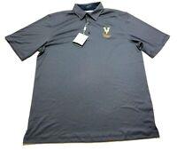Greg Norman New Mens Gray Short Sleeve Golf Polo Shirt Size Large