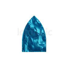 Truss Rod Cubierta Para Guitarra Acústica Piezas Triángulo Celuloide Azul Perla