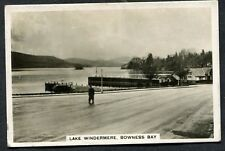 J.A.Pattreiouex -1936 2nd Series Sights of Britain No11 - Bowness Bay,Windermere
