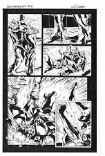 MARVEL BLACK PANTHER #7 PAGE 16 ORIGINAL ART by WILL CONRAD