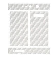 Skin Wrap for Snow Wolf 200W TC MOD Decal Vape Sticker - WHITE CARBON