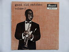 LOUIS ARMSTRONG Good old satchmo Vol 2 West end blues ... 10151