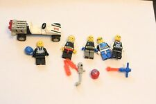 Lego Classic Space vintage Lego minifigs figures vintage Tool lot of 5 spaceman