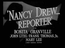 NANCY DREW, REPORTER, 1939, classic Bonita Granville crime film: DVD-R Region 2^