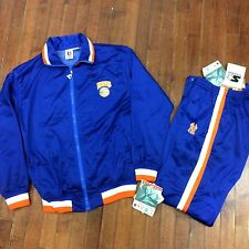 New York Knicks NBA Starter Vintage 90s Mens Large NWT Warmup Jacket & Pants