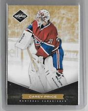 CAREY PRICE 2011/12 PANINI LIMITED GOLD SPOTLIGHT #13/25