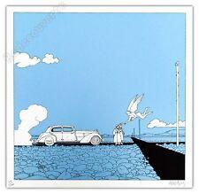 Affiche Sérigraphie Moebius L'Ange du carrefour 200ex num signée 34,5x34,5 cm