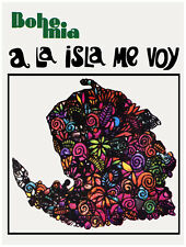 "11x14""Decoration Poster.Interior room design art.Isla de Pinos.Cuba.6619"