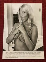 Your Three Minutes Are Up Lobby Card Photo Movie Still 7.25x10 Sharon Johansen