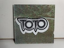 """Vintage TOTO Rock Band 1970s/80s 2""""x2"""" Carnival Mirror Prize hand cut glass Tile"""