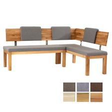 Standard Furniture Eckbank Catania kurzer Schenkel rechts Massivholz Polsterbank