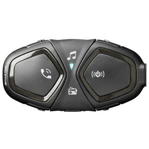 INTERPHONE ACTIVE Single Pack Motorcycle Bluetooth Communication Intercom System