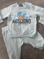Baby Boys Moschino Tracksuit 6-9 Months