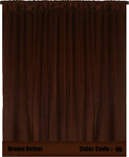 Saaria Velvet Curtain Stage Drape Window Home Theater Events Backdrop 20'W X 9'H
