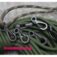 Hot 5 Pcs Mini EDC Carabiner Snap Spring Clips Hook Survival Keychain Tool HG