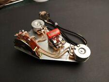 USA Fender Strat Wiring Harness - Fat 50s Half-Blender Circuit w/Greasebucket