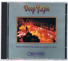 DEEP PURPLE MADE IN EUROPA CD F.C.