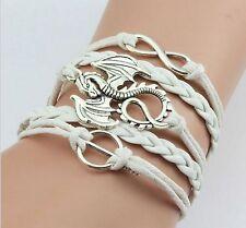 white GAME OF THRONES Dragon Bracelet Tyrion Daenerys Targaryen Dany Dragon