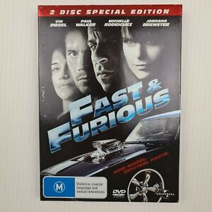 Fast & Furious DVD 2-Disc Special Edition - Region 2,4 - FREE TRACKED POSTAGE