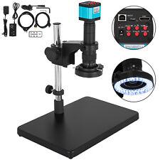 Digital Video Microscope Camera HDMI USB LED Magnifier Industrial 14MP New