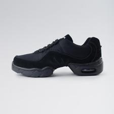 Black 1st position boost split sole dance sneakers - Size UK 2