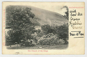IRELAND 01 -OLENDALOUGH -The Church of the Kings (1902)(Undivided Back)