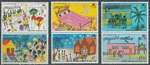 Anguilla 1976 #265-70 Christmas - MNH
