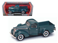 1937 STUDEBAKER EXPRESS PICKUP TRUCK GREEN 1/18 DIECAST ROAD SIGNATURE 92458grn