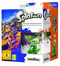 Splatoon & Inkling Squid Amiibo Limited Edition Bundle - PAL Region [Wii U] NEW