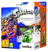 Splatoon & Inkling Squid Amiibo Limited Edition Bundle - PAL Region [Wii U] NEW