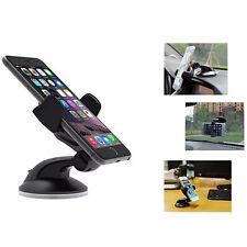 Universal 360° Rotating Car Windshield Cell Phone /GPS Black Sucker type Holder