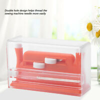 Insertion Needle Threader Applicator Handle Thread For Sewing Tool Machine Red