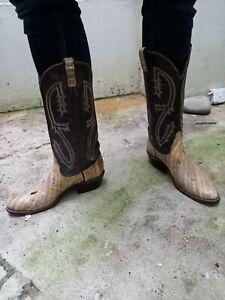 Tony Lama US Snakeskin Cowboy Boots