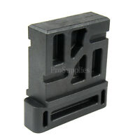Black Polymer Vise Block for 308 Lower Receiver MagWell
