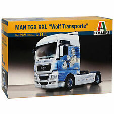 Italeri MAN TGX XXL Wolf Transporte LKW Truck 1:24 Bausatz Model Kit Art 3921