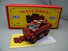 Matchbox MoY Code 2 YFW-39 Walker Feuerwehr 1 von 9 rot - rote Box