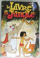 Jeu des 7 Familles Le Livre de la Jungle / Dos puzzle / 5,2 x 3,8 cms