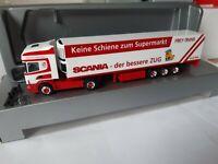 Scania  Frey - Trans 1210 Wien Österreich  Scania - der bessere ZUG   Kühlkoffer