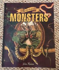 Mythology Monsters for Scholastic by John Malam (2009, Trade Paperback)