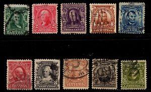 #300-309 United States used