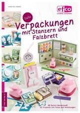 """Anleitungs-Buch EFCO Motiv-STANZER """"Verpackungen mit Stanzern + Falzbrett"""" 96"""
