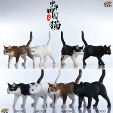 JXK 1/6 Chinese Garden Cat Pet Figure Animal Model Decor Collector Toy Xmas Gift