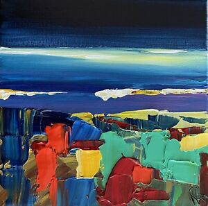 Marina Rehrmann Original Abstract Modern Contemporary Seascape Landscape Art 🧿