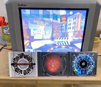 Sony PlayStation Underground & Pizza Hunt Demo Disc Lot of 5 All Tested + Extras