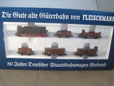 Fleischmann N schönes Set wie neu mit OVP + Anleitung 7886