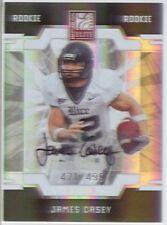 james casey rc rookie auto autograph texans rice owls elite college #/499