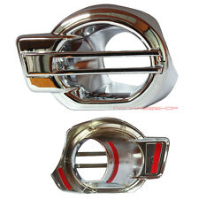 NEW CHROME FOG LIGHT LAMP COVER TRIM NEW FORD RANGER XLT 2012 2013 PICKUP TRUCK